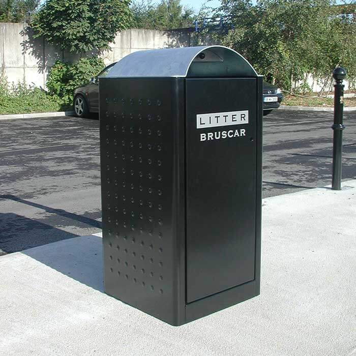 Litter bins - Rd rubbish bin ...